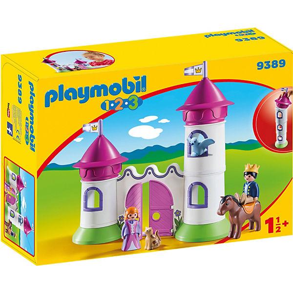 Playmobil 9389 Schlösschen Mit Stapelturm Playmobil 1 2 3 Mytoys