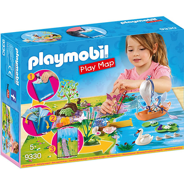 PLAYMOBIL® 9330 Play Map Feenland, PLAYMOBIL Sports&Action