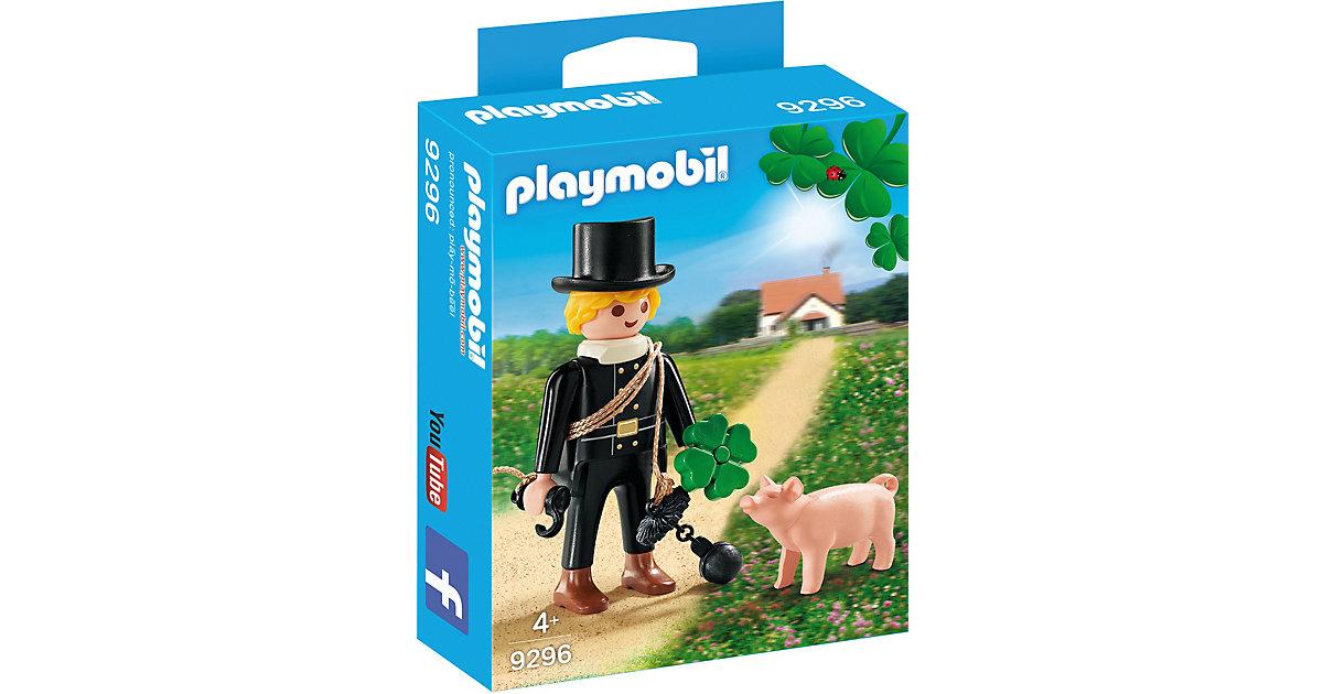 PLAYMOBIL® 9296 Schornsteinfeger mit Glücksschw...