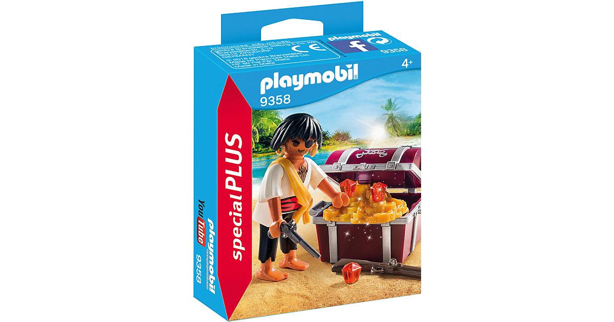 PLAYMOBIL® 9358 Pirat mit Schatzkiste
