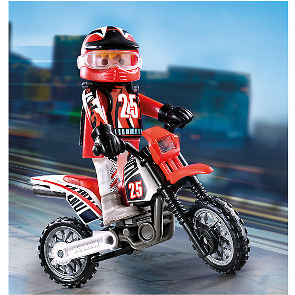 PLAYMOBIL® PLAYMOBIL® PLAYMOBIL® 9357 Motocross-Fahrer, PLAYMOBIL Action b86b42
