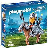 """Игровой набор Playmobil """"Гномы: боевой гном на коне"""""""