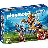 """Игровой набор Playmobil """"Гномы: король гномов с охраной"""""""