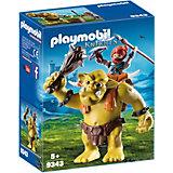 """Игровой набор Playmobil """"Гномы: гигантский тролль с боевым гномом"""""""