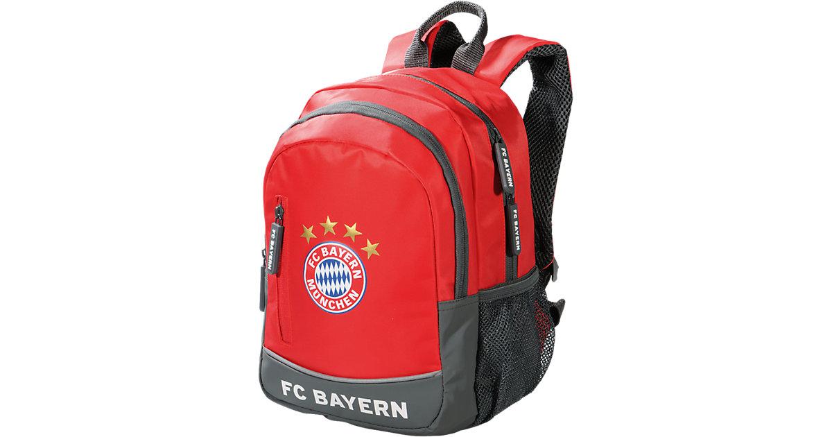 Kindergartenrucksack FC Bayern rot