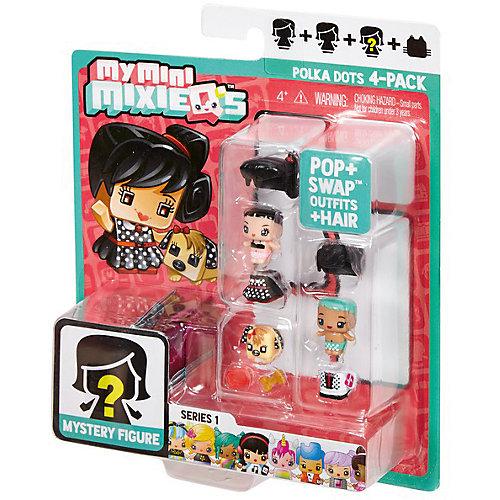 """Набор из 3-х фигурок Mattel """"My Mini MixieQ's"""", Костюм в горошек от Mattel"""