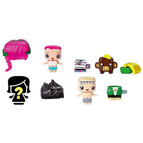 """Набор из 3-х фигурок Mattel """"My Mini MixieQ's"""", С коричневой коровкой от Mattel"""
