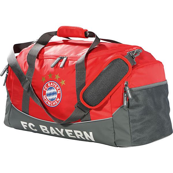 462d957fc5f62 Sporttasche FC Bayern rot. FC Bayern München
