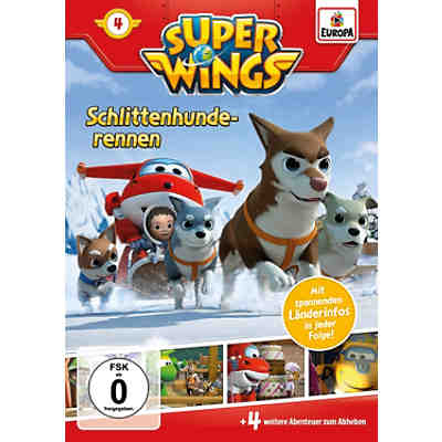 DVD Super Wings 4 - Schlittenhunderennen