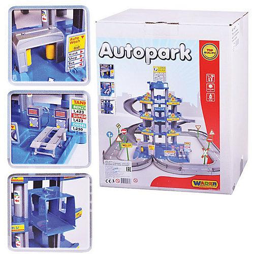 """Парковка Полесье """"Автопарк"""" 4 уровня, синий (в коробке) от Полесье"""