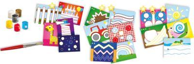 Gesellschaftsspiele Schmidt Spiele Creative Kit Colors Pictures Ausmalset Block Motive 6 Buntstifte
