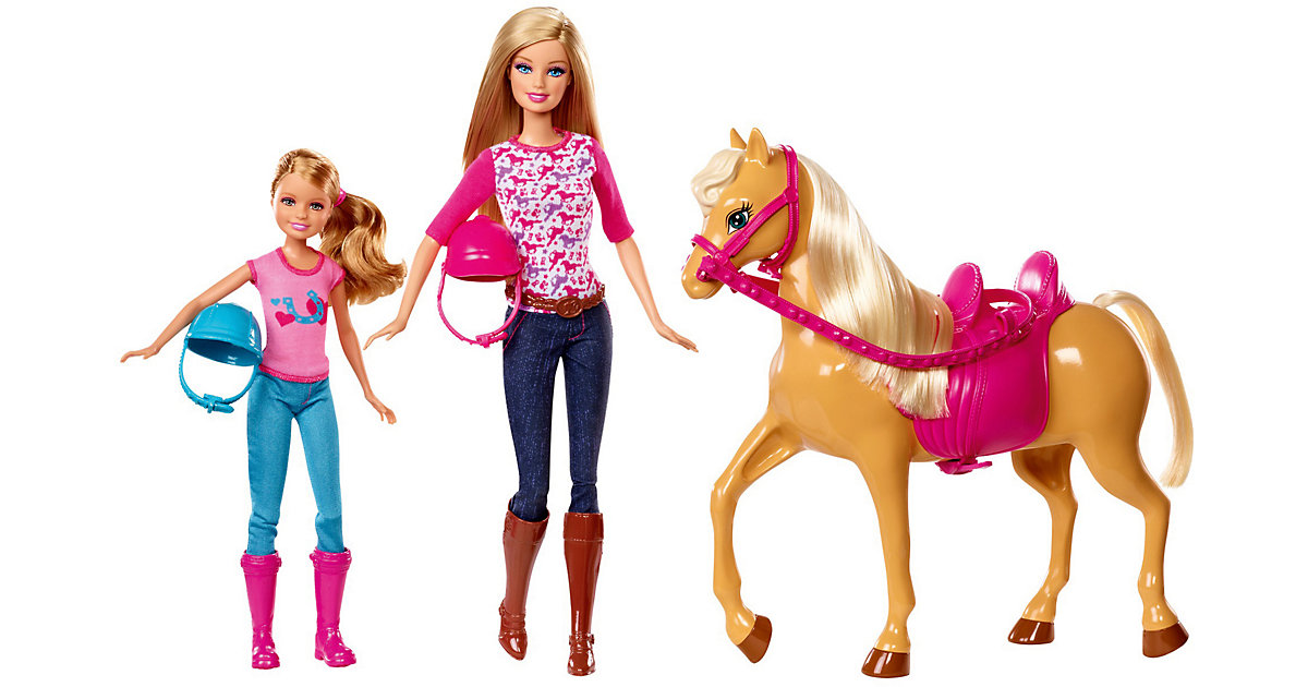 Barbie Sisters´ Moments Riding Lesson Doll and ...