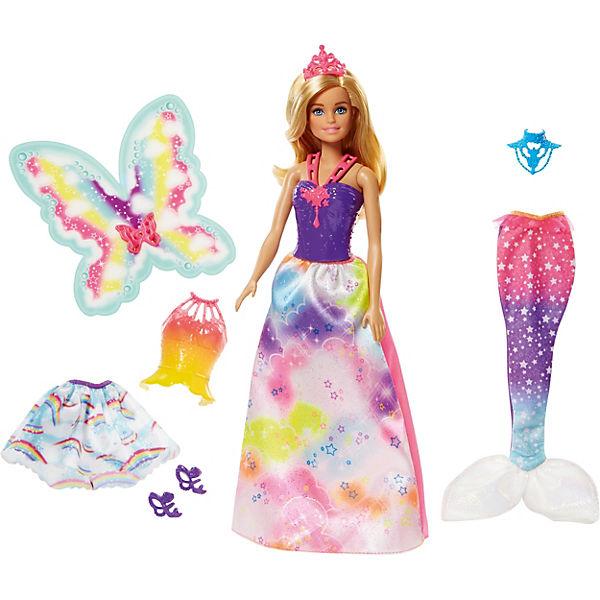 """Кукла Barbie """"Сказочная принцесса-фея-русалка"""""""
