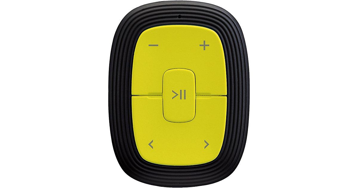 Xemio-245 lime - MP3-Player mit Clip, 2GB Speicher und integriertem Akku hellgrün