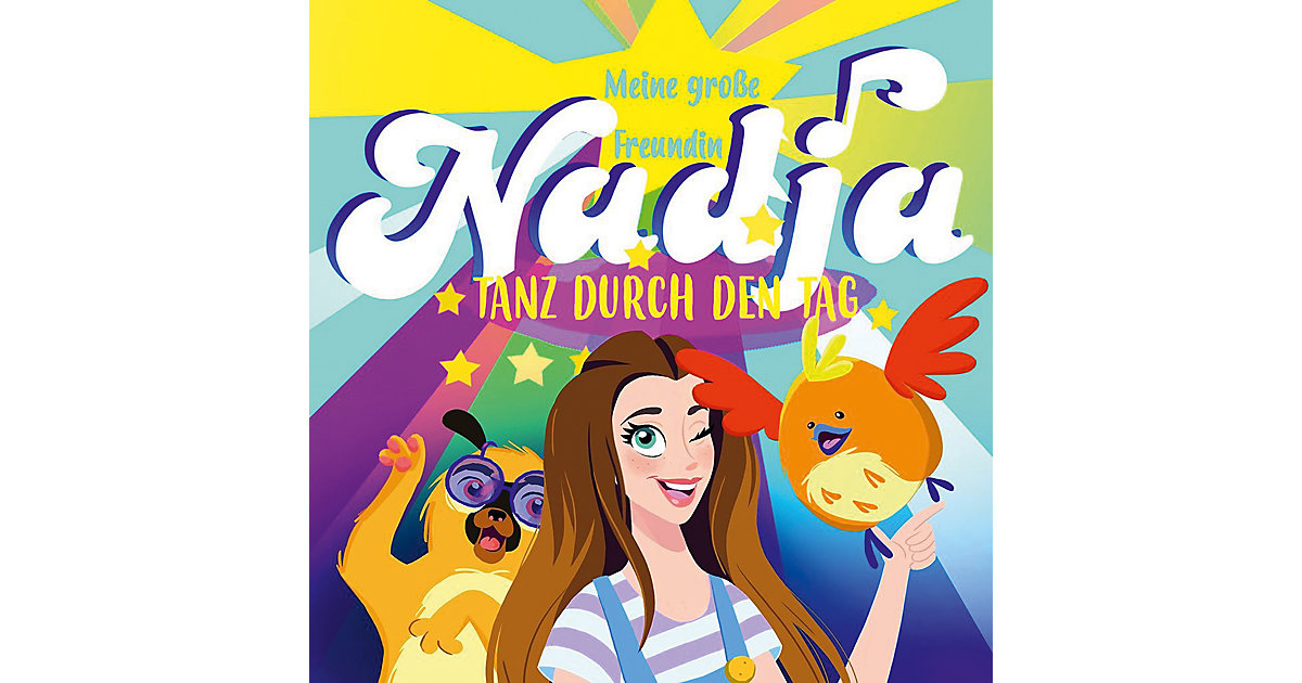 CD Meine Große Freundin Nadja - Tanz durch den Tag