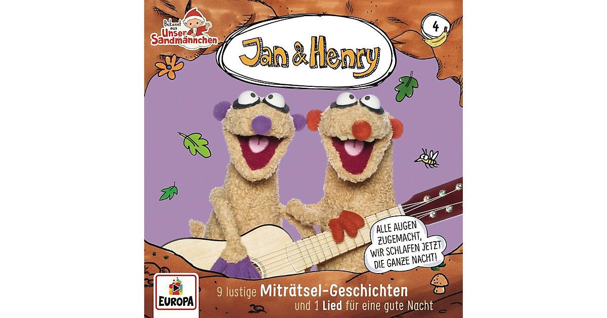 CD Jan & Henry 04 - 9 Rätsel und 1 Lied