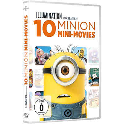 DVD 10 Minions Mini-Movies