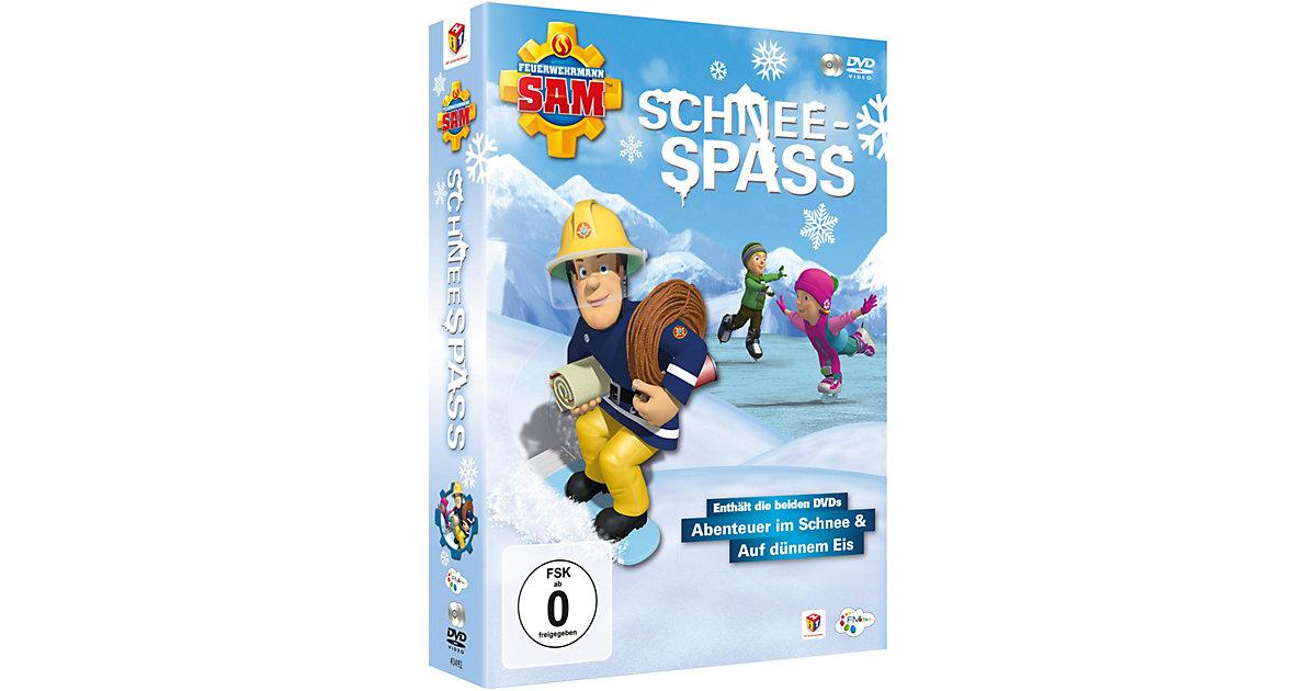 DVD Feuerwehrmann Sam - Schneespaß (2 DVDs) Hörbuch