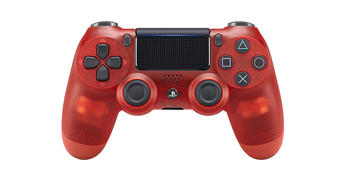 PS4 Dualshock Joypad Wireless Controller rot tr...