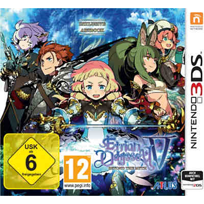 3DS Etrian Odyssey V - Beyond the Myth