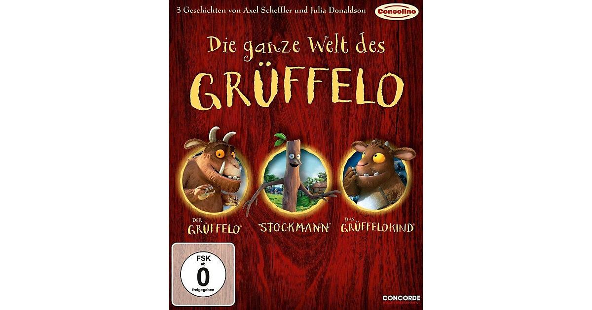 BLU-RAY Die ganze Welt des Grüffelo - 3 Geschichten (3 DVDs) Hörbuch