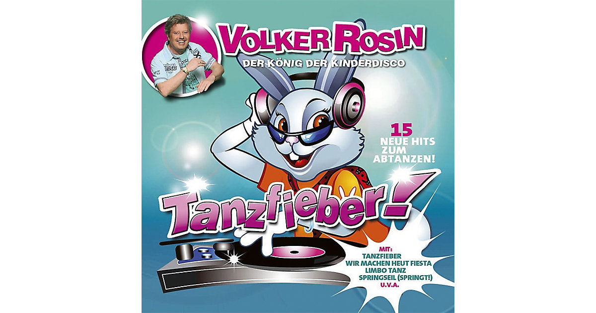 CD Volker Rosin - Tanzfieber!
