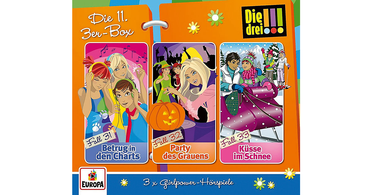 CD Die drei !!! 11/3er-Box (Folgen 31-33) (3 CDs)