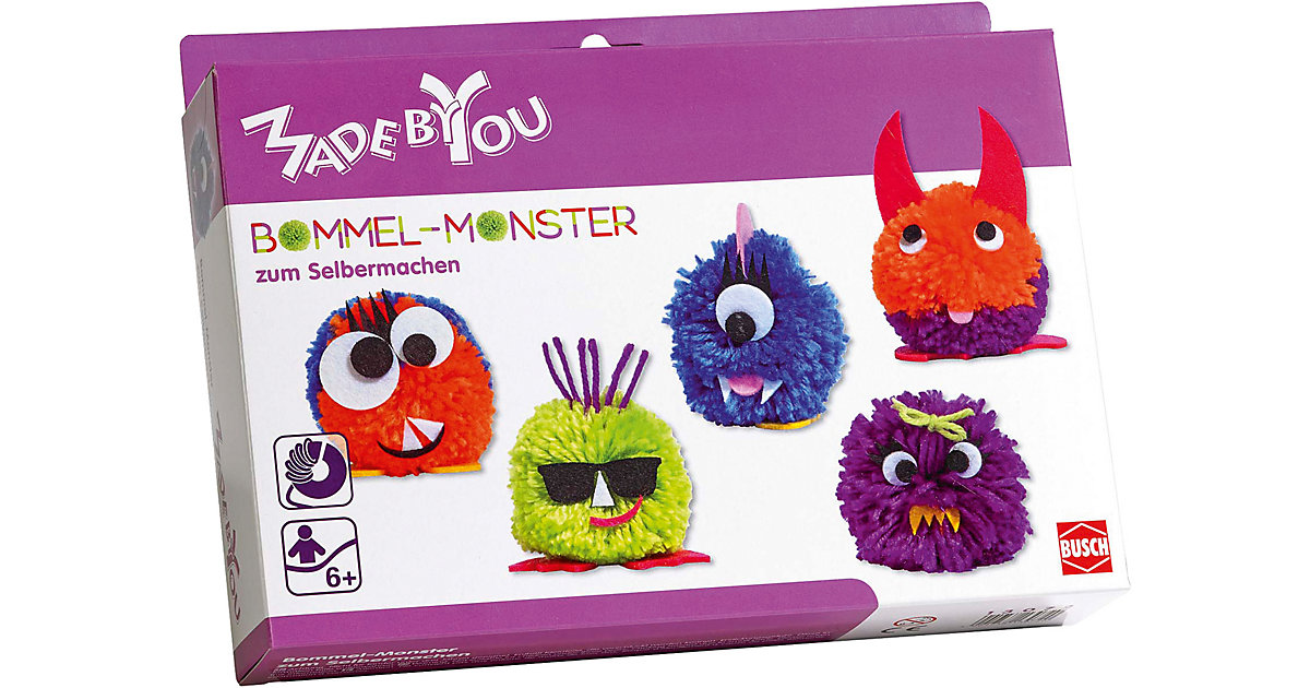 MADE BY YOU Bommel-Monster