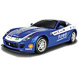 Радиоуправляемая машина MJX Ferrari 599 GTB Fiorano Panamerican, 1:20 (синяя)