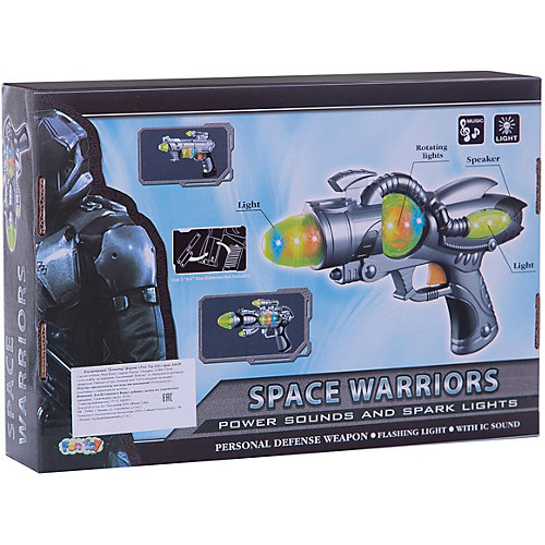 "Космический бластер Fun Toy ""Space Warriors"" от Fun Toy"