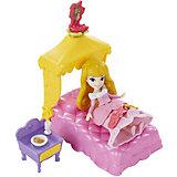 Игровой набор Маленькая кукла Принцесса и сцена из фильма, Hasbro
