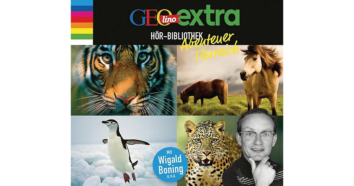 GEOlino extra: Hör-Bibliothek Abenteuer Tierrei...