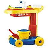"""Набор для уборки Hualian Toys """"Маленькая хозяйка"""", 10 предметов"""