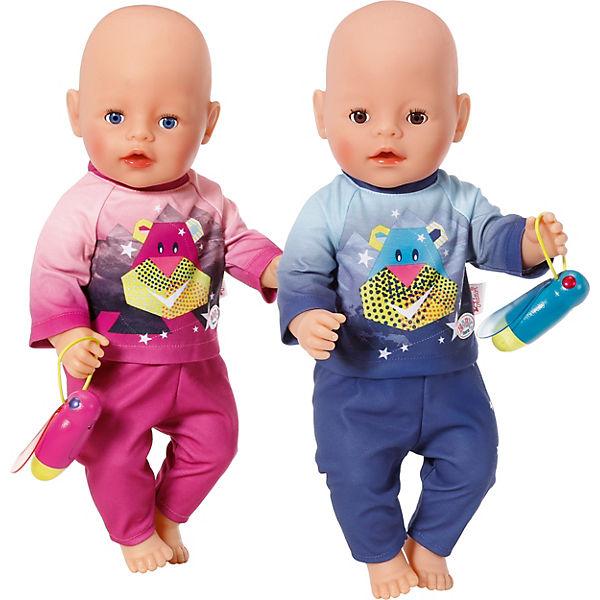 BABY born® born® Play&Fun Nachtlicht Outfit Blau Puppenkleidung, BABY born® born® e8e260