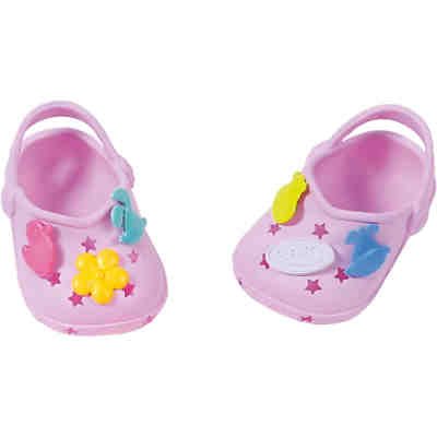 BABY born® Clogs mit Pins Lila