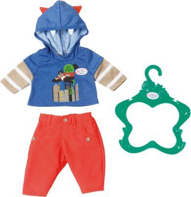 Kleidung & Accessoires Babypuppen & Zubehör Baby Born Zapf Creation Oberteil Pullover Pulli Farbe Rot Spielzeug Puppe