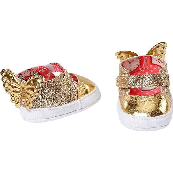 Baby Annabell Schuhe 43cm gold