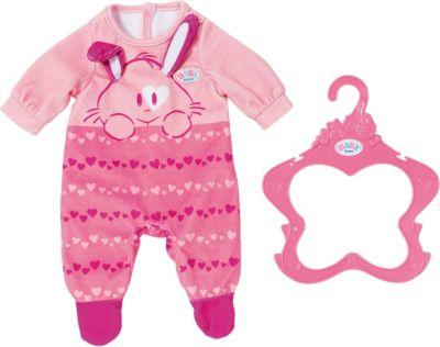 Rosa Strampler mit Mütze Babypuppen & Zubehör Baby Annabell