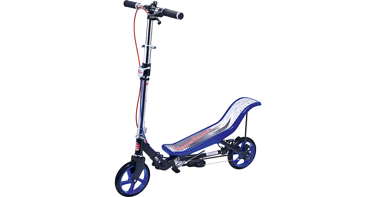Space Scooter · X 590 Deluxe, blau