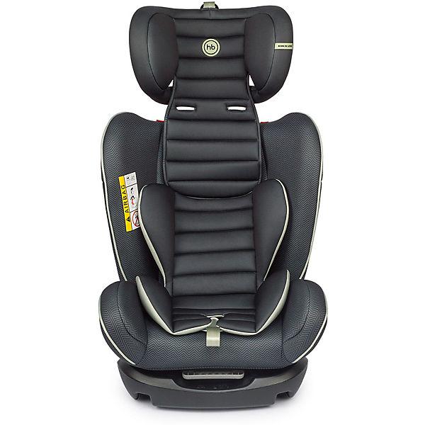 Автокресло Happy Baby Spector, 0-36 кг, черный