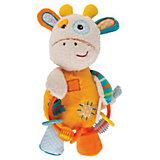 """Мягкая игрушка-погремушка Жирафики """"Жирафик Дэни"""""""