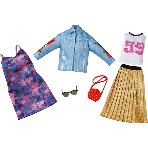 Barbie Fashions 2er-Pack Moden Sortiment, Barbie Z9n5wL