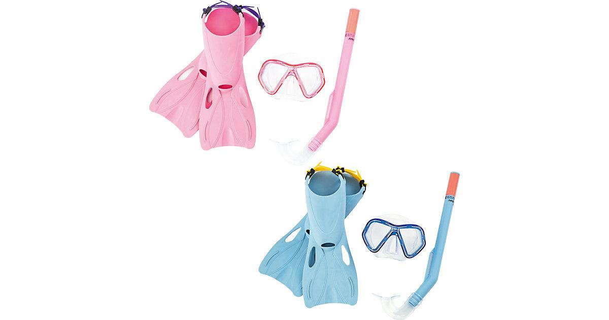 HYDRO-SWIM™ Galapagos Snorkel Set Größe 34-37, Junior Tauchset (Schwimmflossen, Taucherbrille, Schnorchel), sortiert