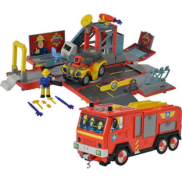 Feuerwehrmann sam in jupiter mit licht und sound