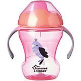 "Поильник Tommee Tippee ""Explora"" Easy Drink от 6 мес, 230 мл, розовый"