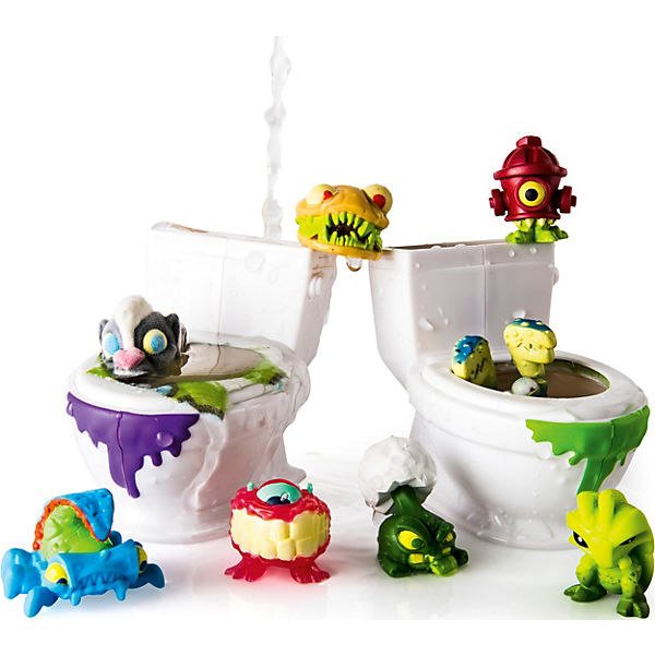 Flush Force Bizarre Bathroom, Spin Master