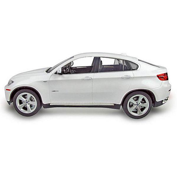 """Радиоуправляемая машина Rastar """"BMW X6"""", 1:14 (белая)"""