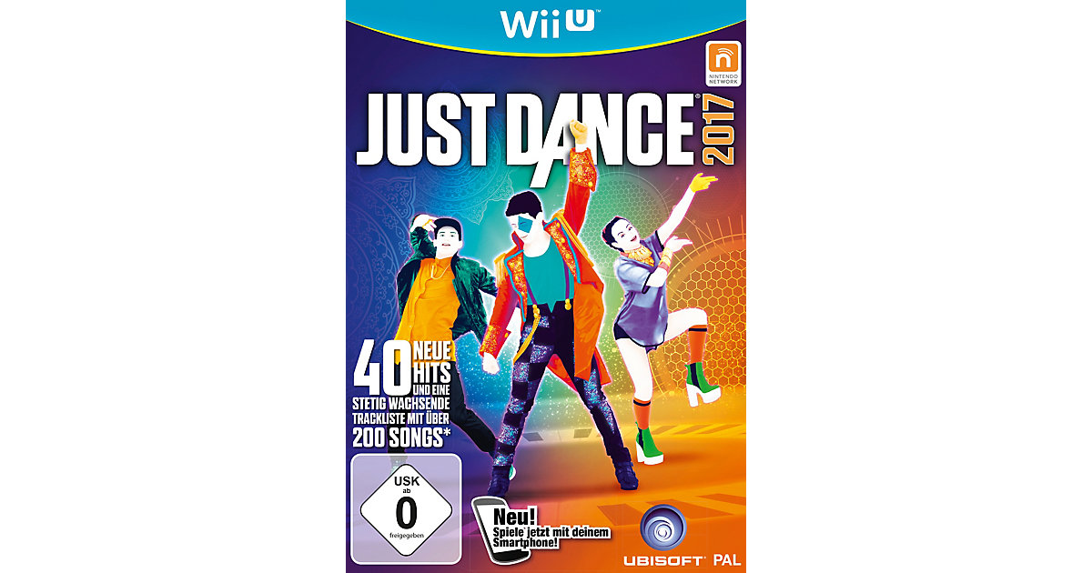 WiiU Just Dance 2017