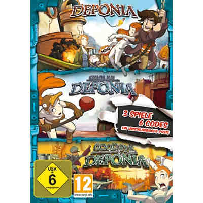 PC Deponia Family Pack