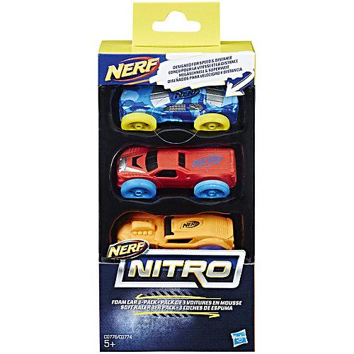 Набор машинор Nerf Nitro, 3 шт от Hasbro